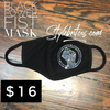 BLACK POWER FIST Face Mask
