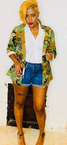 STYLEBRITY HOTTIE DENIM SHORTS
