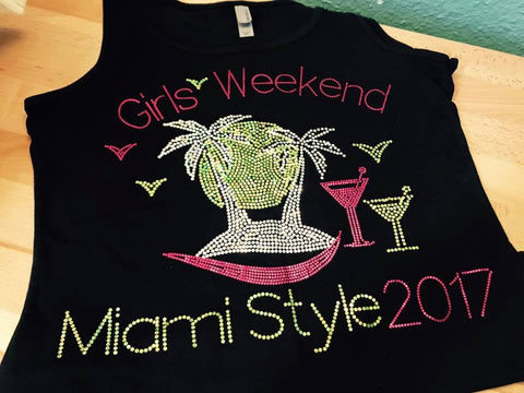GIRL'S WEEKEND MIAMI STYLE