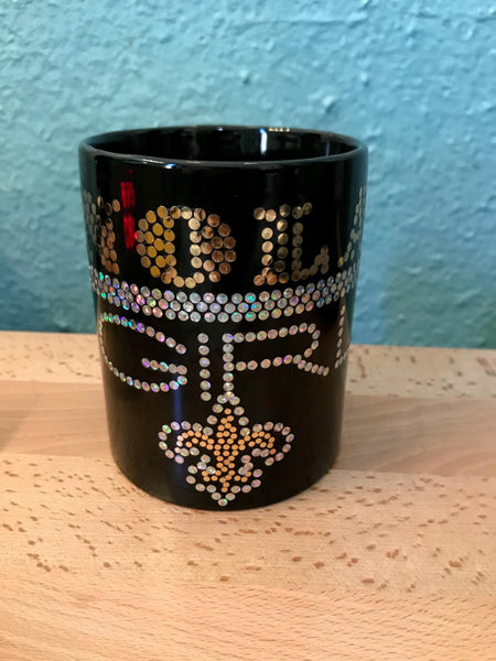 NOLA GIRL BLING MUG