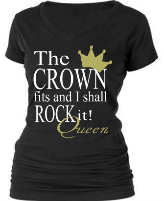 THE CROWN FITS AND I SHALL ROCK IT!