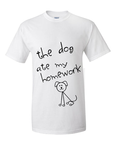 THE DOG ATE MY HOMEWORK (KIDS)