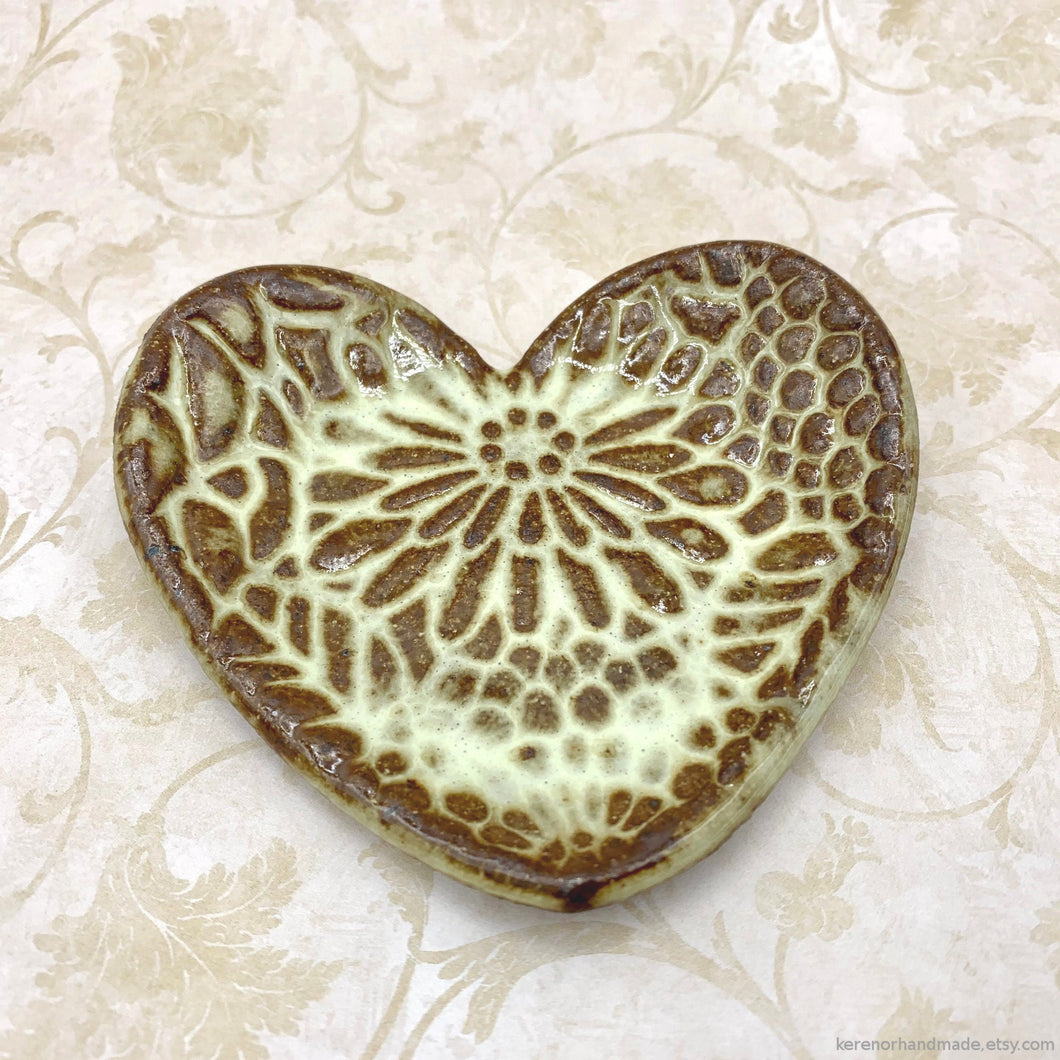 handmade ceramic jewelry dish ceramic vanity night table handmade heart shaped ring dish teabag holder tealight candle holder clay soap dish