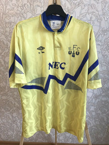 FC Everton 1990/1991/1992 Away Size L Umbro jersey