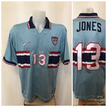 Load image into Gallery viewer, USA #13 Jones 1995/1996/1997/1998 away/3rd Size L Nike jersey third