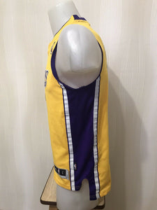 Kids Los Angeles Lakers #12 Dwight Howard Size L Adidas jersey