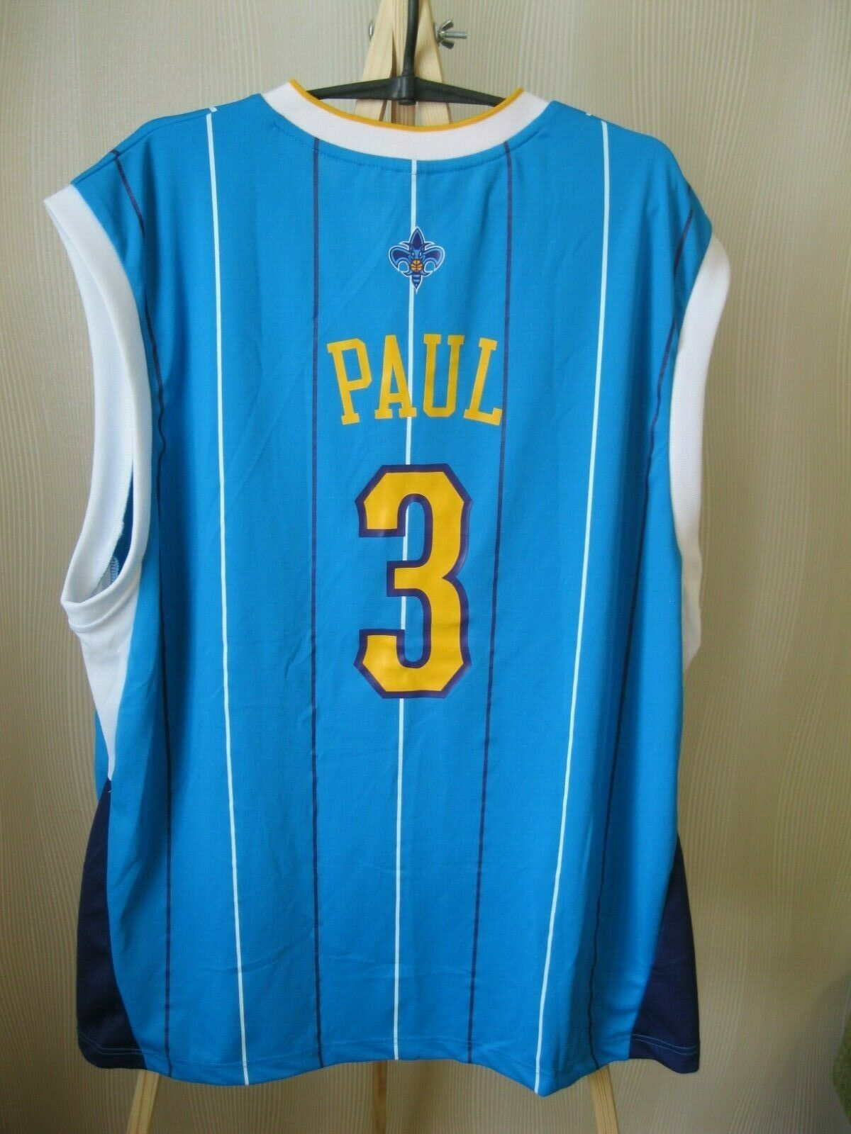 New Orleans Hornets #3 Chris Paul Size XL adidas NBA
