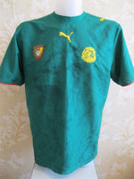 Load image into Gallery viewer, Cameroon national team 2005/2006/2007 Home Size L Puma jersey