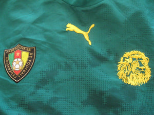 Cameroon national team 2005/2006/2007 Home Size L Puma jersey