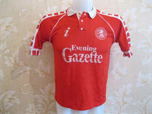 "Middlesbrough 1990/1991/1992 Home Size 36"" Skill jersey"