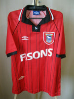 Load image into Gallery viewer, Ipswich Town #23 1994/1995 away Size XL Umbro jersey