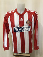 Load image into Gallery viewer, FC Sunderland 2012/2013 Home Size L Adidas Z09856 jersey
