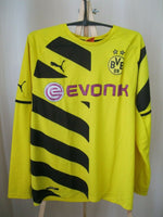 Load image into Gallery viewer, Borussia Dortmund 2014/2015 Home Size L Puma 745882 jersey