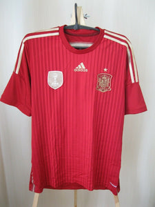 Spain team 2014/2015 Home Size M Adidas G85279 jersey