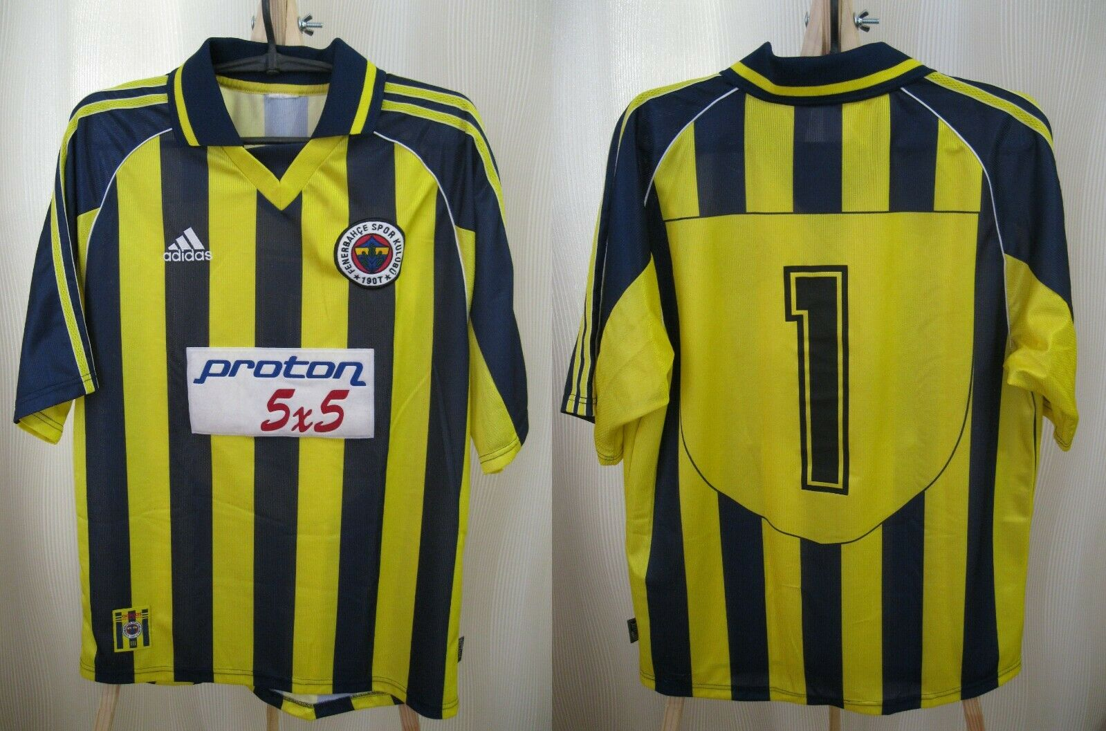 Fenerbahce SK 1999/2000 home Size L Adidas jersey