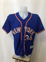 Load image into Gallery viewer, New York Mets #34 Noah Syndergaard Size M Majestic jersey