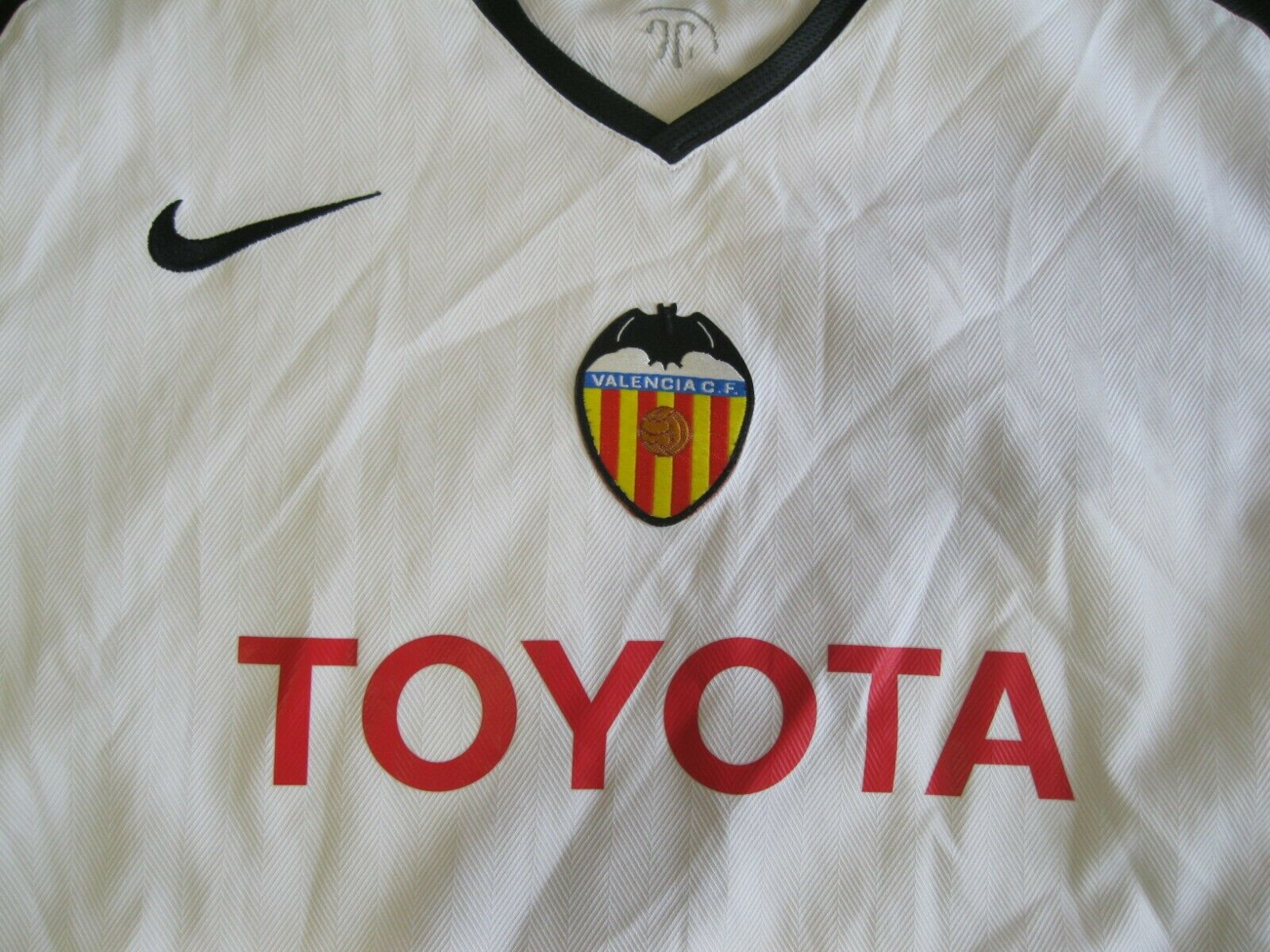 Valencia 2005/2006 Home Size S Nike jersey