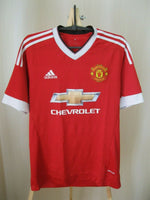 Load image into Gallery viewer, Manchester United 2015/2016 Home Size M Adidas AC1414 jersey