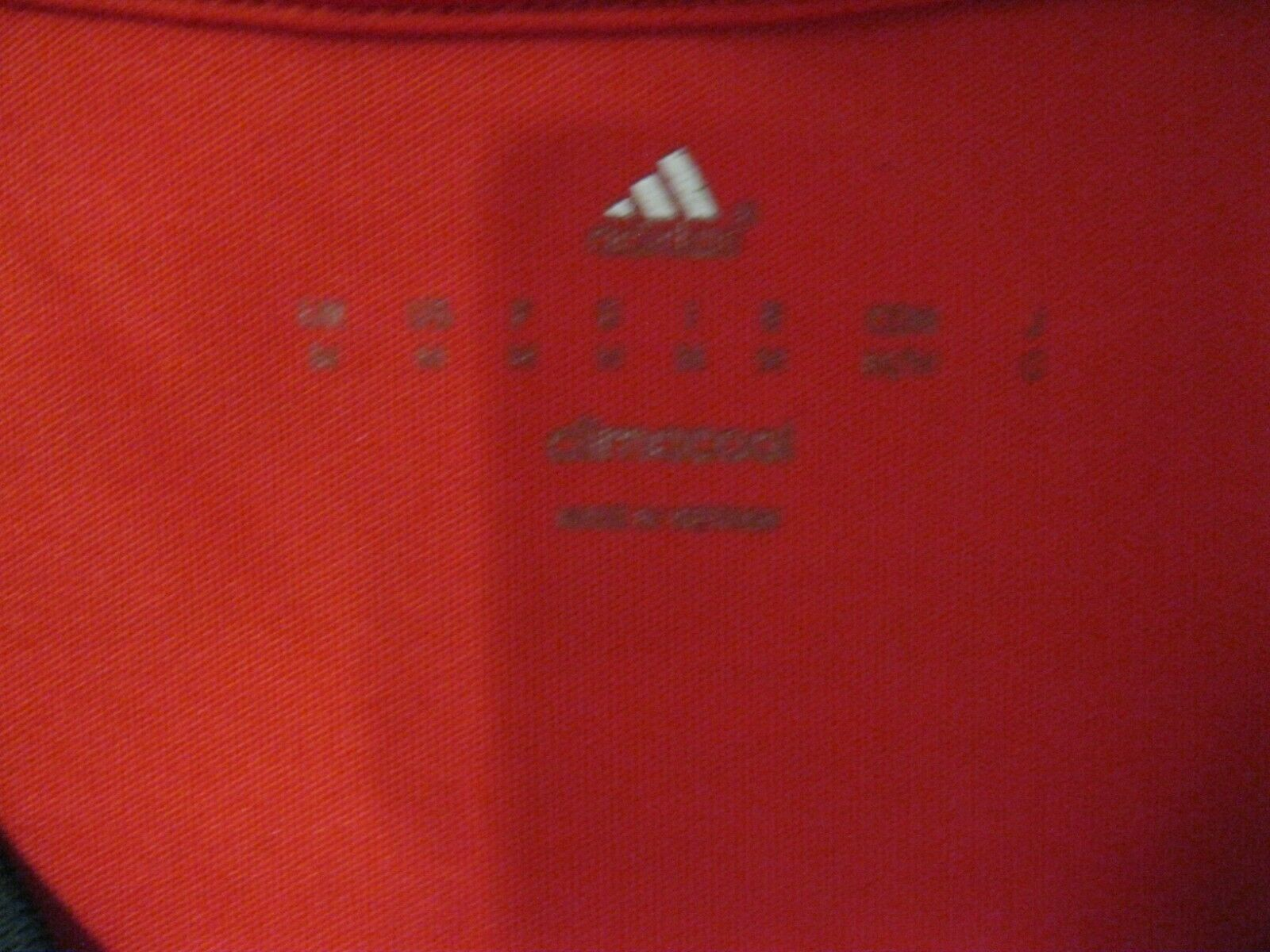 Manchester United 2015/2016 Home Size M Adidas AC1414 jersey