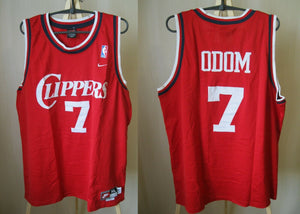 Los Angeles Clippers #7 Lamar Odom Size XL Nike jersey NBA Length +2