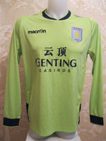Load image into Gallery viewer, Aston Villa #4 Vlaar 2012/2013/2014 away/third Size M Macron jersey