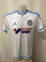 Load image into Gallery viewer, Olympique Marseille 2015/2016 Home Size L Adidas jersey