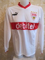 Load image into Gallery viewer, VFB Stuttgart #2 A. Hinkel 2003/2004 Home Size L jersey