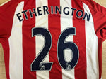 Load image into Gallery viewer, FC Stoke City #26 Etherington 2011/2012 home Size M Adidas O56556 jersey