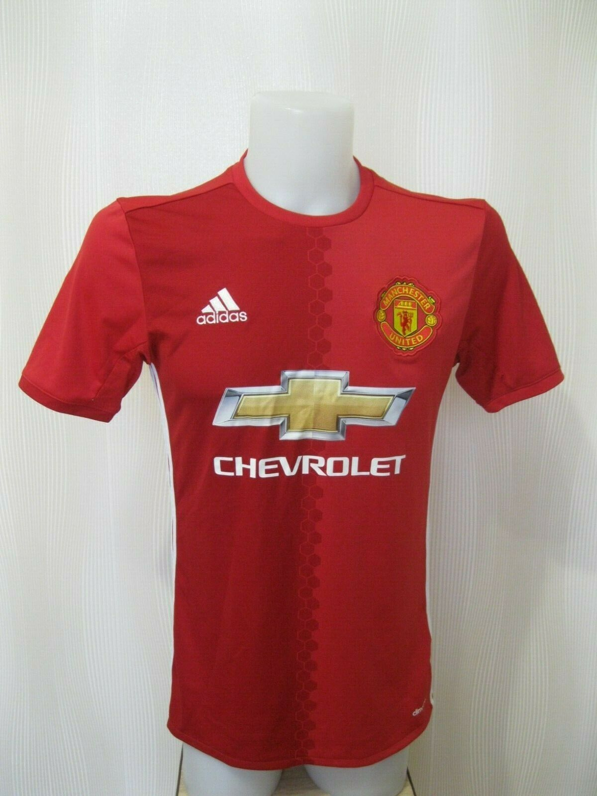 Manchester United 2016/2017 Home Size S Adidas AI6720 jersey
