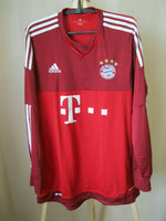 Load image into Gallery viewer, FC Bayern Munich 2015/2016 Home Size S Adidas S08657 jersey