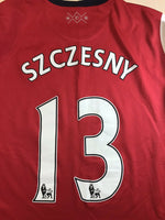 Load image into Gallery viewer, Ladies Arsenal London 2012/2013/2014 #13 Szczęsny Home Size L Nike 480048-620 jersey