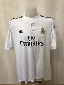 Real Madrid 2014/2015 home 2XL Adidas F50637 jersey