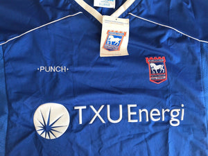 Ipswich Town 2001/2002/2003 Home Size XL Punch jersey