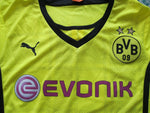 Load image into Gallery viewer, Ladies Borussia Dortmund 2013/2014 Home Size S Puma 743568 jersey