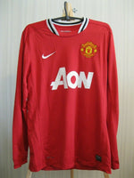 Load image into Gallery viewer, Manchester United #10 Rooney 2011/2012 Size M Home Nike 423933-623 jersey