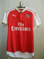 Load image into Gallery viewer, Arsenal London #10 Wilshere 2015/2016 home Size M Puma 747566 jersey