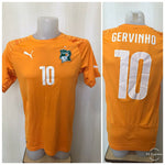 Load image into Gallery viewer, Cote D'lvoire #10 Gervinho 2014/2015/2016 Home Size M Puma 744586 jersey