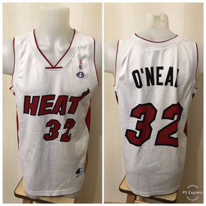 Miami Heat #32 Shaquille O'Neal Size M Champion jersey NBA