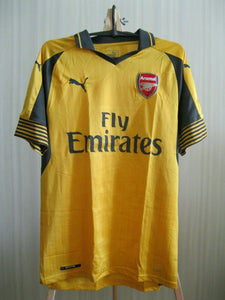 Arsenal London 2016/2017 away Size S Puma 749714 jersey