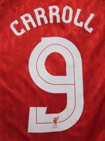 Load image into Gallery viewer, Liverpool #9 Carroll 2010/2011/2012 home Size S Adidas p96763 jersey