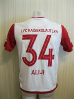 Load image into Gallery viewer, FC Kaiserslautern #34 Aliji 2016/2017 third Size S Uhlsport jersey