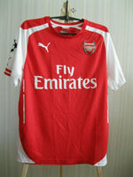 Load image into Gallery viewer, Arsenal London 2014/2015 home Size M Puma 746446 jersey