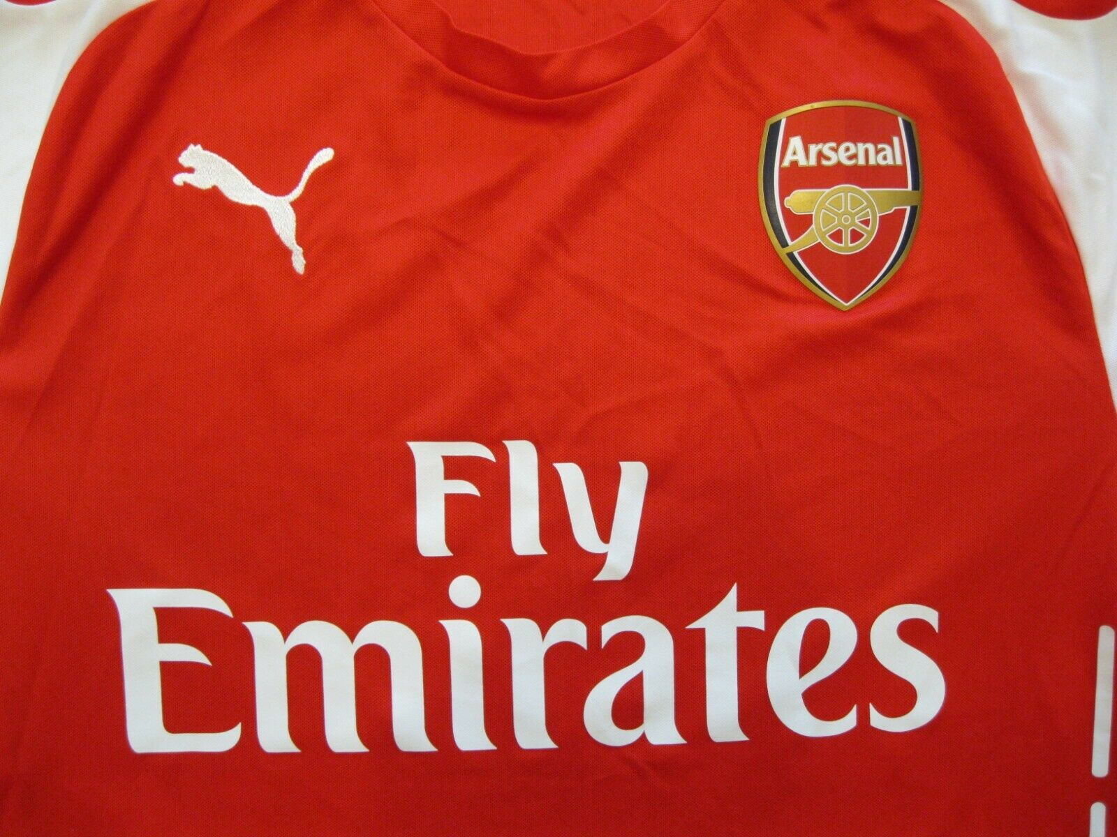 Arsenal London 2014/2015 home Size M Puma 746446 jersey