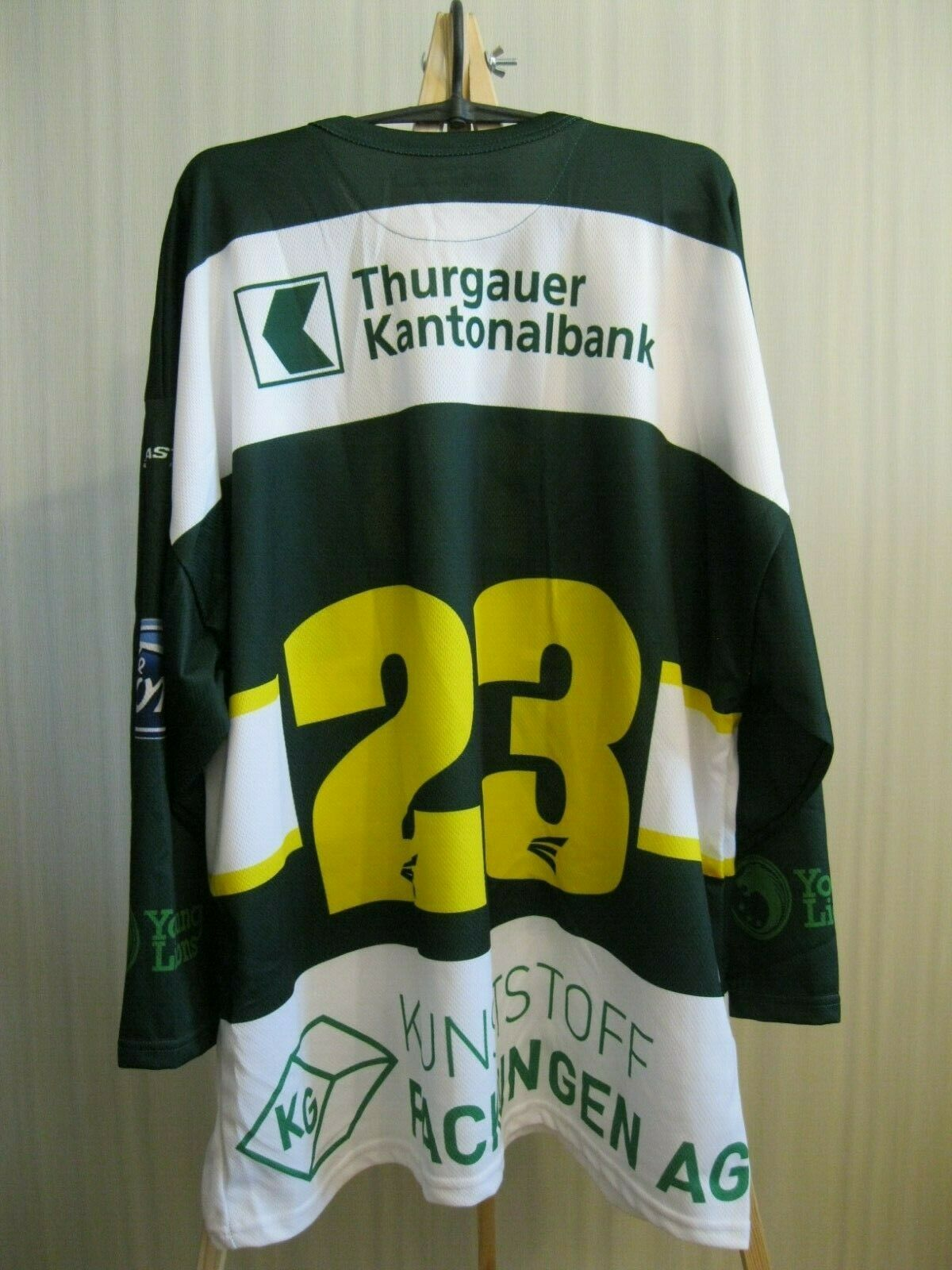 HC Thurgau #23 Size XL Ice Hockey Swiss  jersey