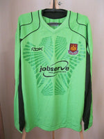 Load image into Gallery viewer, West Ham United 2006/2007 Goalkeeper Size L Reebok jersey