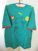 Load image into Gallery viewer, Cameroon national team 2005/2006/2007 Home Size L Puma 732082 jersey