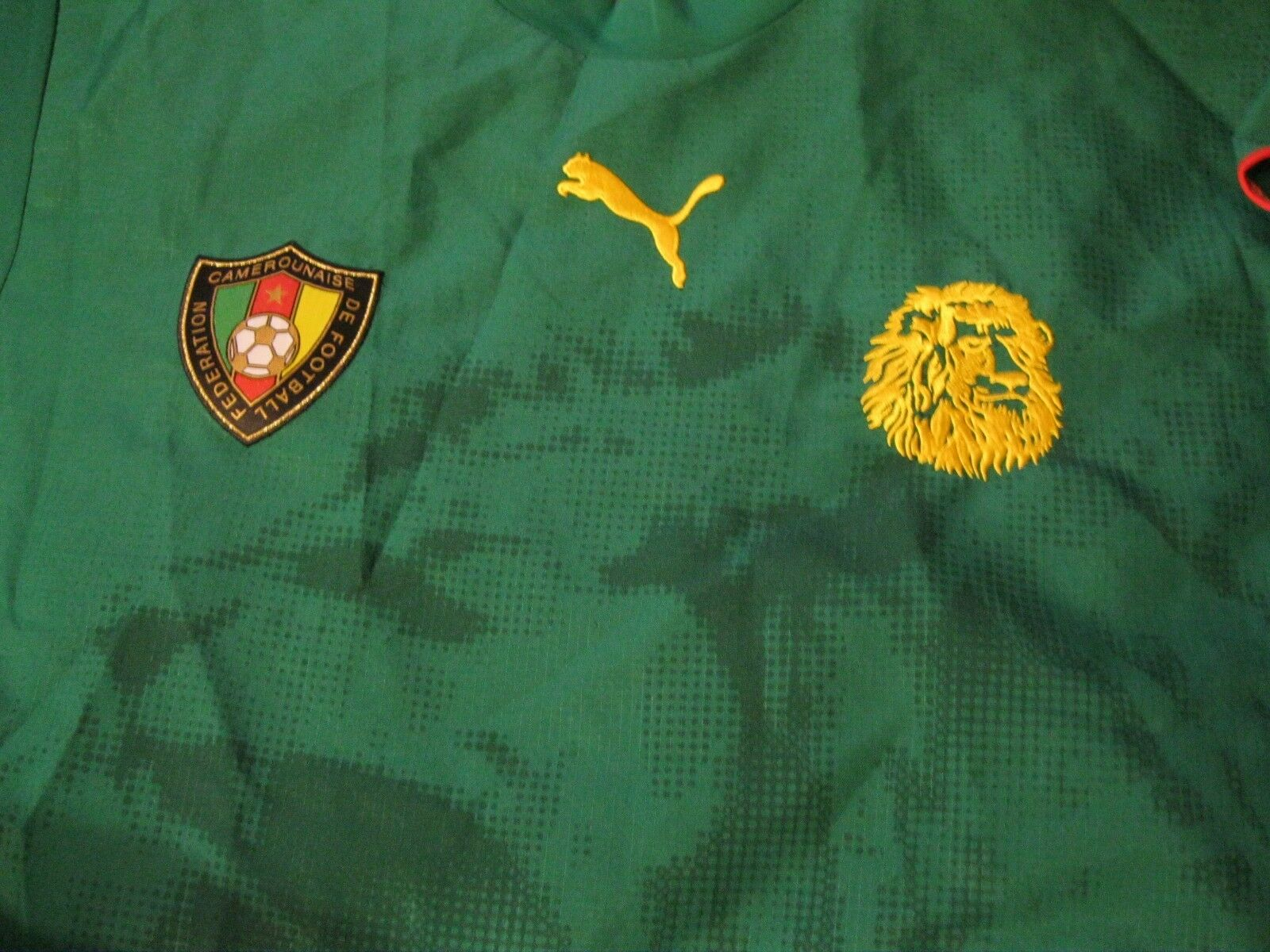 Cameroon national team 2005/2006/2007 Home Size L Puma 732082 jersey