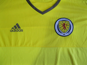 Scotland national team 2015/2017 goalkeeper Size XL Adidas Adizero S29442 jersey
