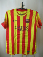 Load image into Gallery viewer, Ladies FC Barcelona #10 Messi 2013/2014 away Size M Nike 532833-703 jersey
