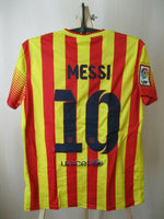 Load image into Gallery viewer, Ladies FC Barcelona #10 Messi 2013/2014 away M Nike 532833-703 jersey